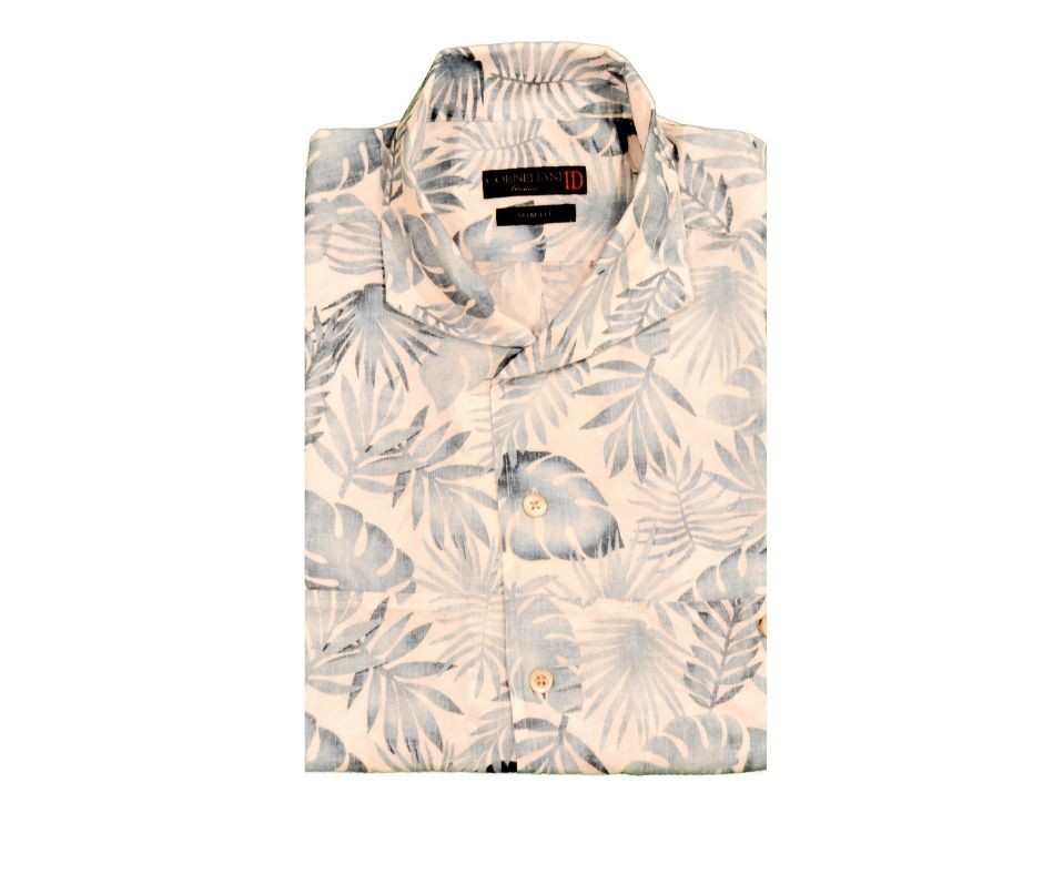 Camicia Corneliani Fantasia Palme