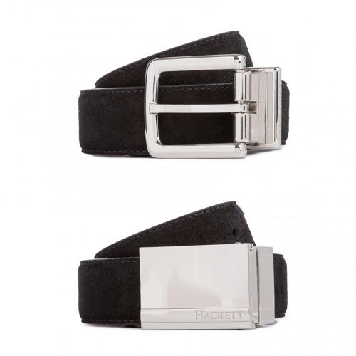 Cintura Hackett Blu navy / Nera